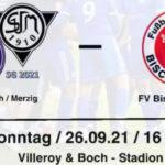 10. Spieltag: SG Mettlach – FV 09 Bischmisheim